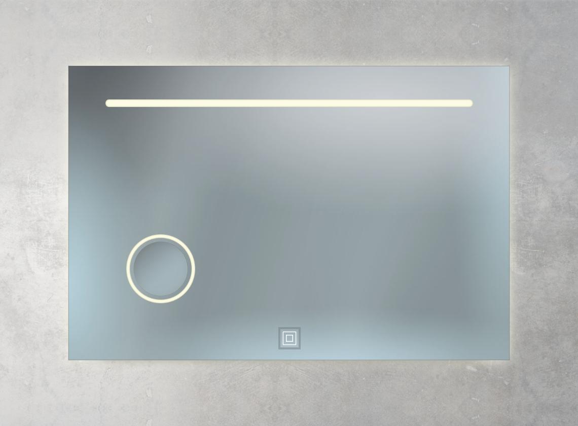Badspiegel mit Sensorschalter
