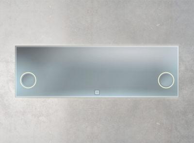 Leuchtenspiegel mit berührungslosen Schalter